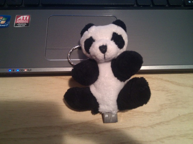 Hibrido USB - Peluche